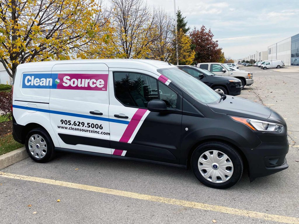 CleanSource Inc. Truck